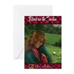 Blood on the Tartan Greeting Cards (Pk of 10)