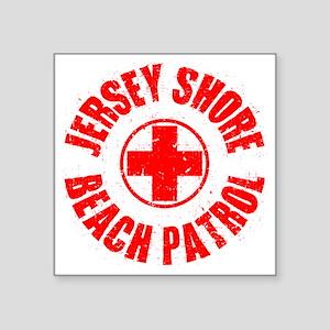 """Jersey Shore_p01 Square Sticker 3"""" x 3"""""""