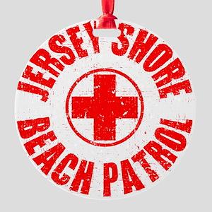 Jersey Shore_p01 Round Ornament