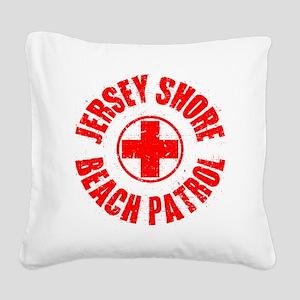 Jersey Shore_p01 Square Canvas Pillow