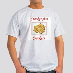 Cracker Ass Crackers Ash Grey T-Shirt