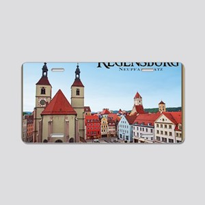 Regensburg - Neupfarrkirche Aluminum License Plate