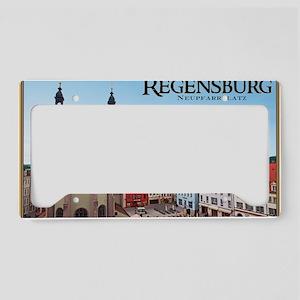 Regensburg - Neupfarrkirche License Plate Holder