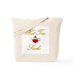 Hot Tea Sucks Tote Bag
