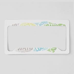 lost_dark License Plate Holder