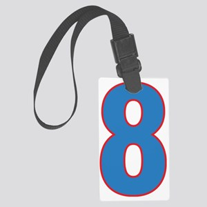 Eight Large Luggage Tag