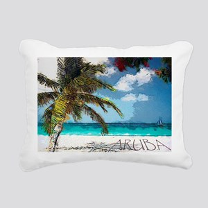 Aruba6 Rectangular Canvas Pillow
