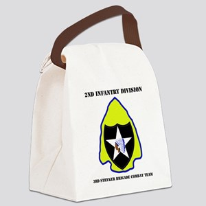 DUI-2ND IN DIV-3RD STRYKER BCT WI Canvas Lunch Bag