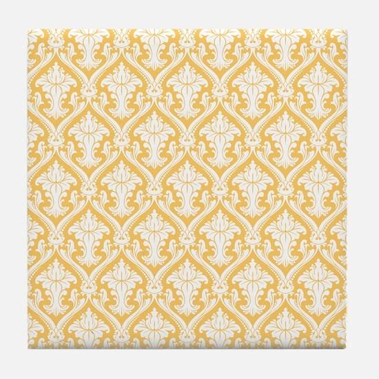 Fancy Gold Wallpaper Tile Coaster