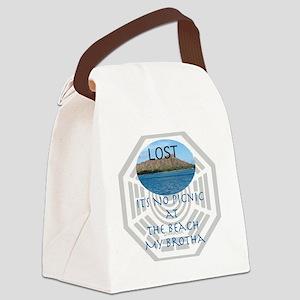 LOSTBeach Canvas Lunch Bag