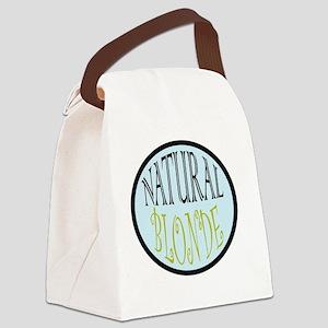 natBLONDE Canvas Lunch Bag