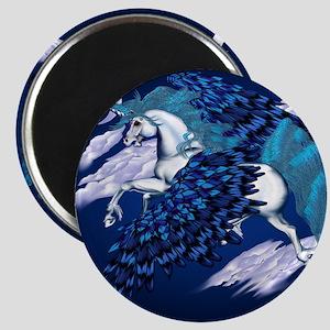 Winged Unicorn _pillow Magnet