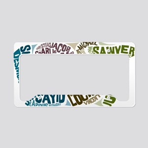 lost License Plate Holder