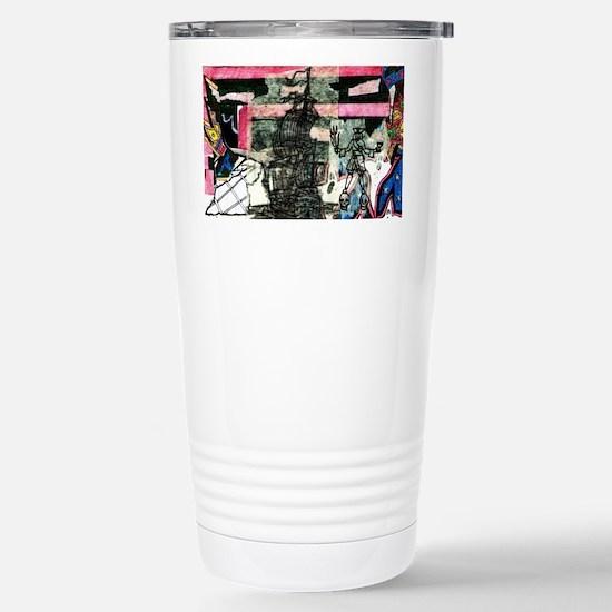 Black Bart Stainless Steel Travel Mug