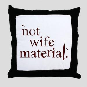 Not wife... Throw Pillow
