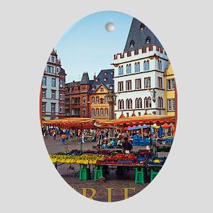 Trier - Hauptmarkt Oval Ornament