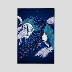 Winged Unicorn  443_iphone_caseP Rectangle Magnet