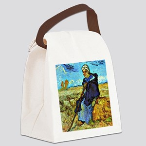Van Gogh - The Shepherdess (after Canvas Lunch Bag