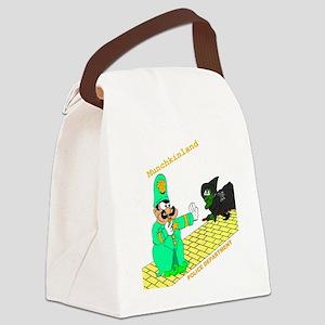 1cop3d Canvas Lunch Bag