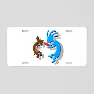 Wiener Dog Aluminum License Plate