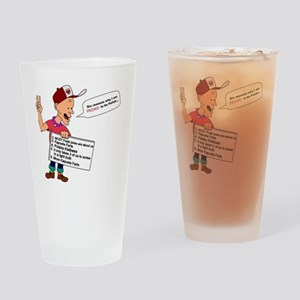 1polishjokesb Drinking Glass