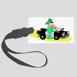 1cop111 Large Luggage Tag