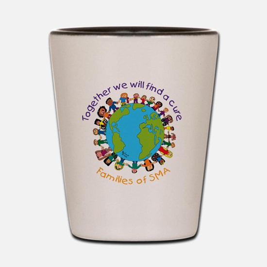 Together_world_blk Shot Glass