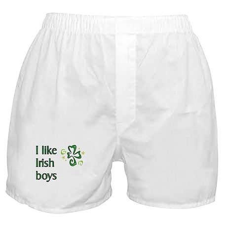 I Like Irish Boys Boxer Shorts