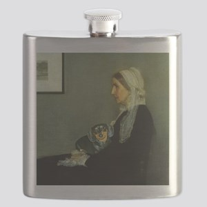 mother lily lap16x16 Flask