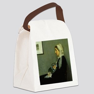 mother lily lap16x16 Canvas Lunch Bag