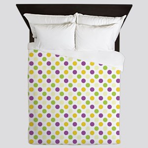 Colorful Polka Dots Queen Duvet
