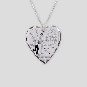 8588_statistics_cartoon Necklace Heart Charm