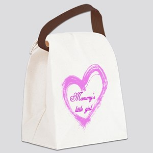 mommys-girl Canvas Lunch Bag