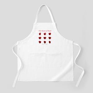 Hearts of Math BBQ Apron