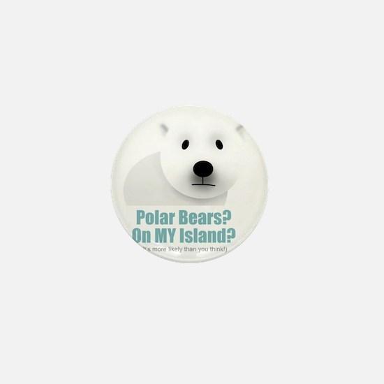 polar black Mini Button
