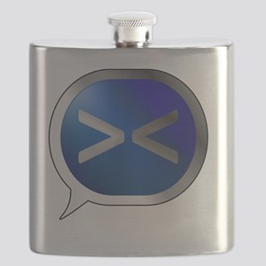 Bubble-Silver-BlueCrush-Anime-Angry Flask