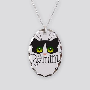 remmycolor Necklace Oval Charm