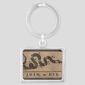 TShirt_Join_or_Die Landscape Keychain