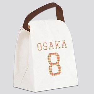 osaka_white Canvas Lunch Bag