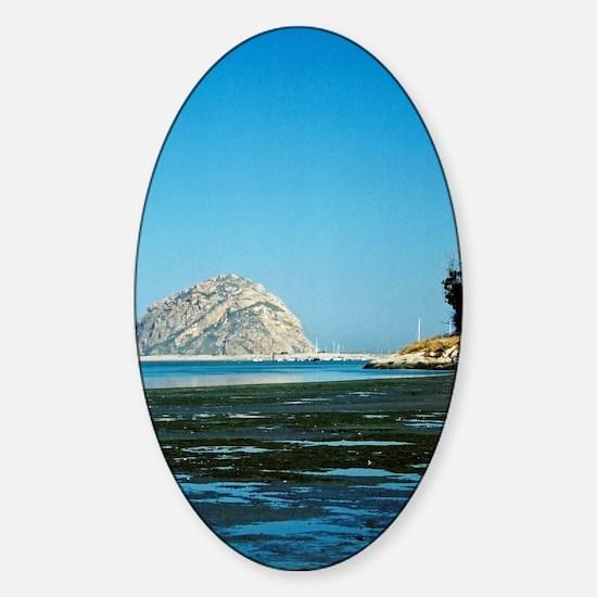 Morro-Bay-221-24-800-corr-cr orn Sticker (Oval)