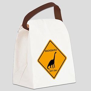 rs_brachiosaurus Canvas Lunch Bag