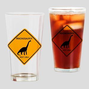 rs_brachiosaurus Drinking Glass
