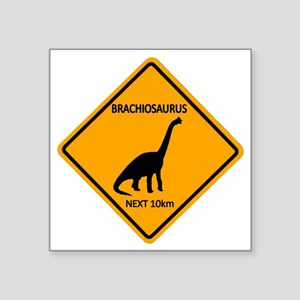 "rs_brachiosaurus Square Sticker 3"" x 3"""