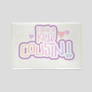 New Cousin (pastel) Rectangle Magnet