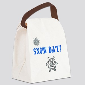 Snowday Canvas Lunch Bag