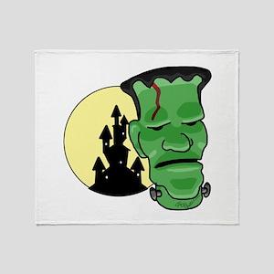 Frankenstein Throw Blanket