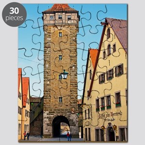 Rothenburg od Tauber - Rödertor Puzzle