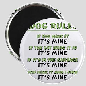 Dog Rules Magnet