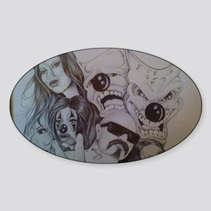 tobyart5 Sticker (Oval)