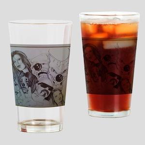 tobyart5 Drinking Glass